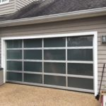 Garage with Tinted Window
