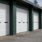 commercial garage doors white